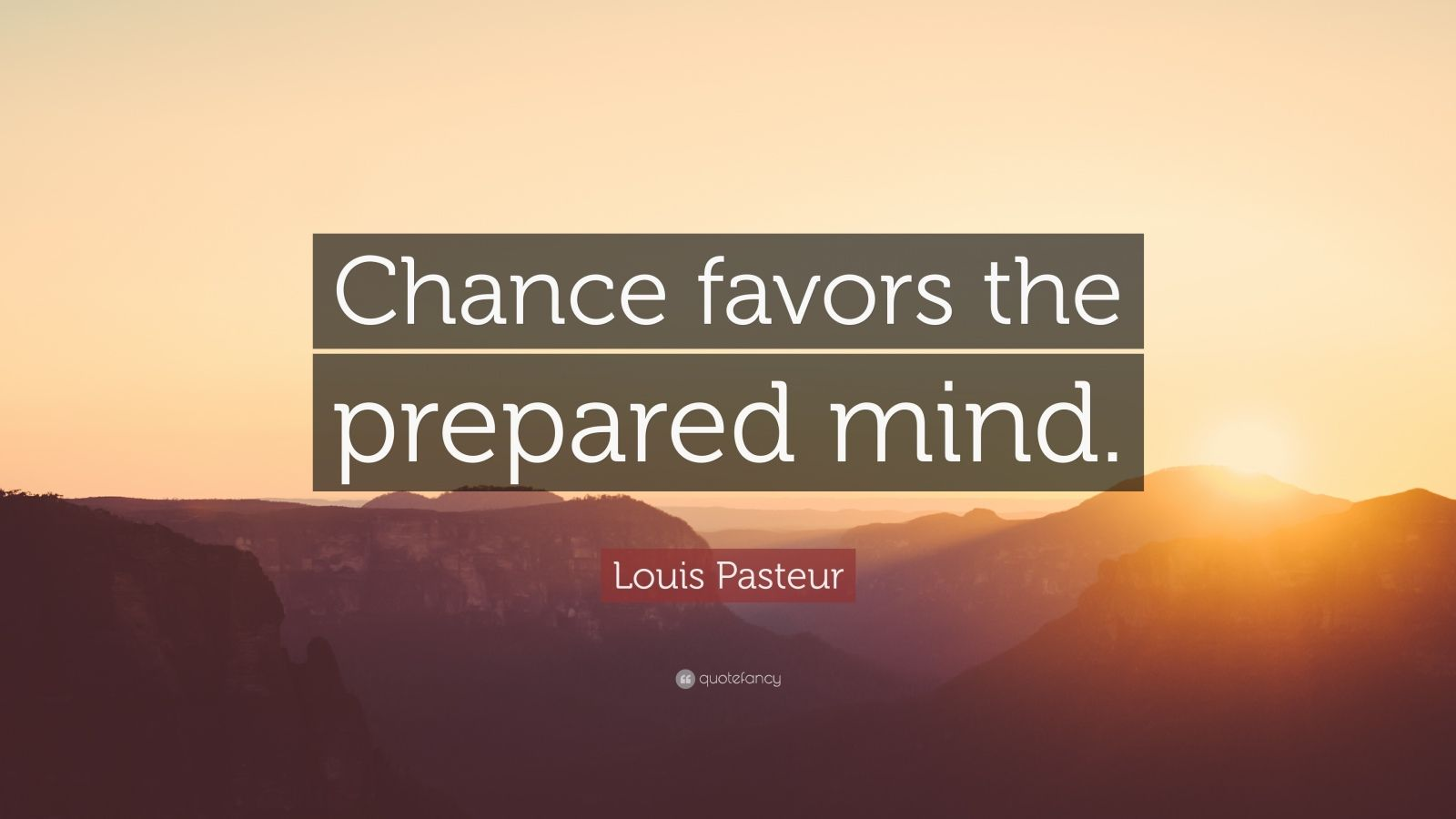 Sports Motivational Quotes Wallpapers Louis Pasteur Quote Chance Favors The Prepared Mind