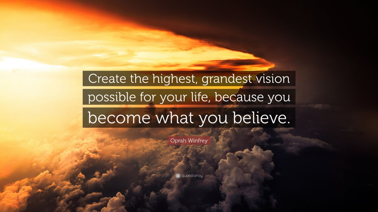 Create Quote Wallpaper Oprah Winfrey Quote Create The Highest Grandest Vision