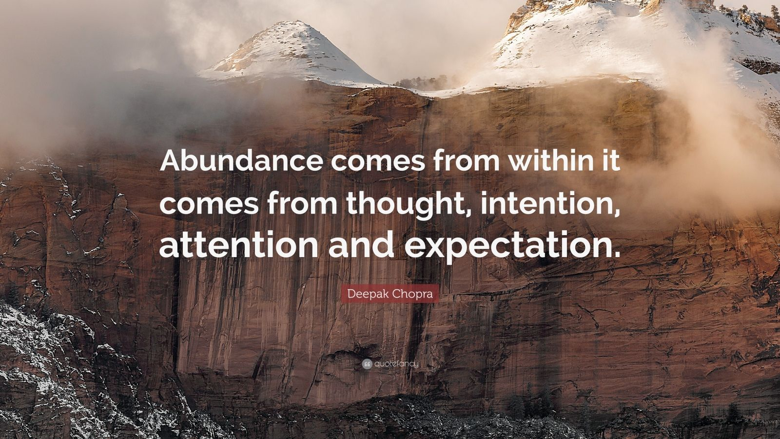 Swami Vivekananda Quotes Wallpaper Deepak Chopra Quote Abundance Comes From Within It Comes