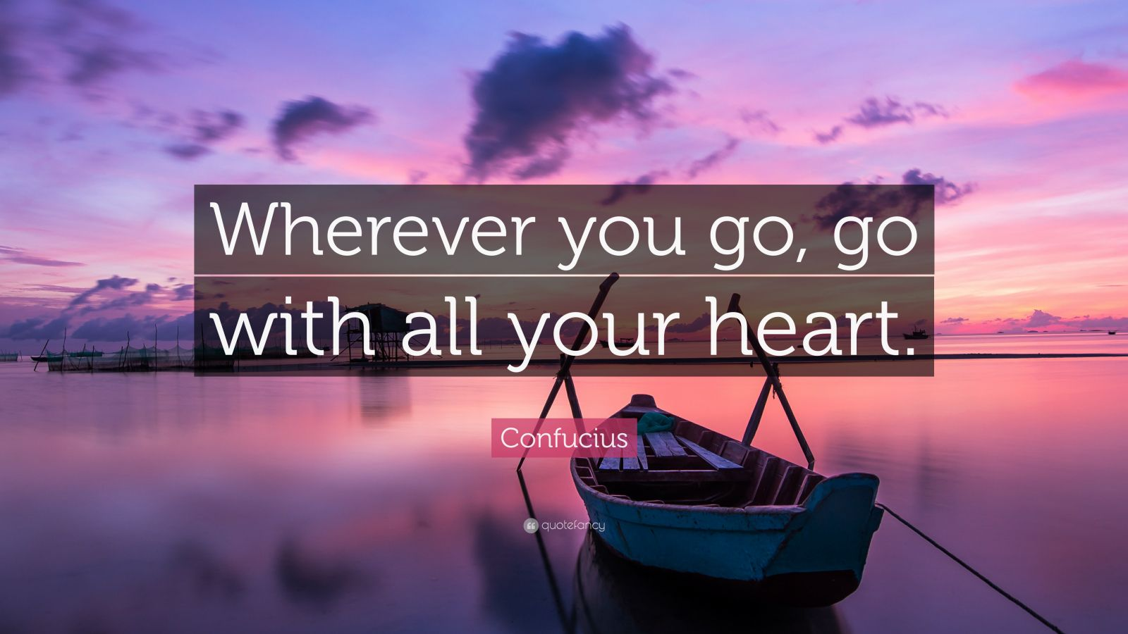 Steve Jobs Motivational Quotes Wallpaper Confucius Quote Wherever You Go Go With All Your Heart
