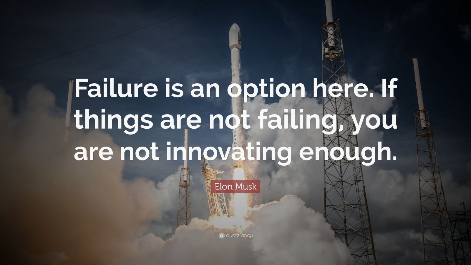 Steve Jobs Motivational Quotes Wallpaper Elon Musk Quote Failure Is An Option Here If Things Are