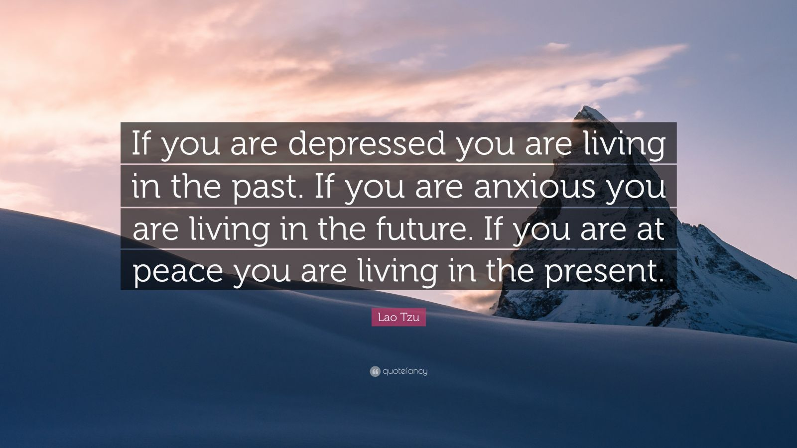 Are You If T Living Anxious Are You Are Future Depressed If Living You Are You