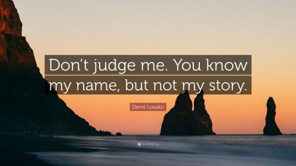 20 Quotes About Not Judging Me Pictures And Ideas On Carver Museum