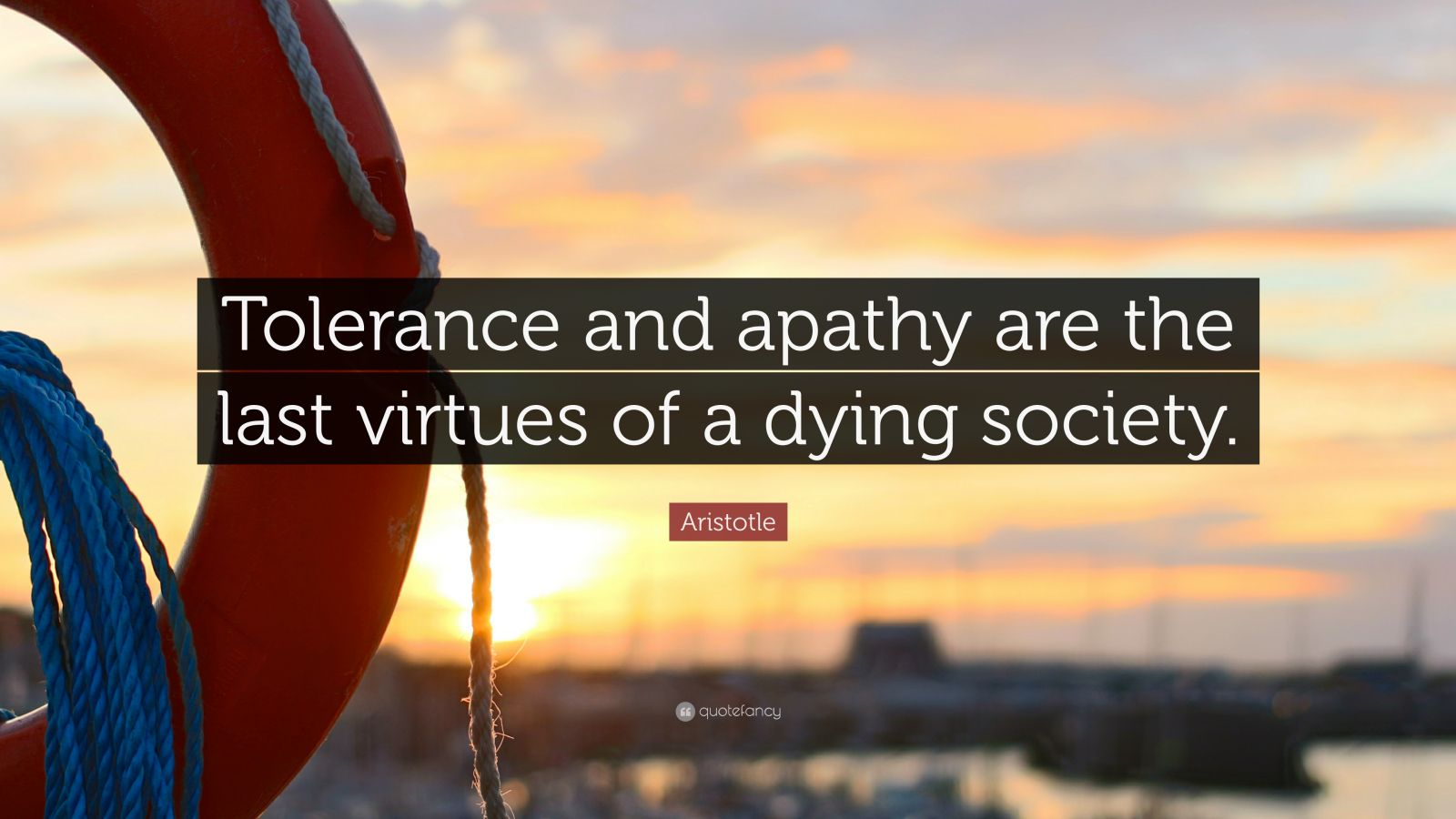 Persistence Quotes Wallpapers Aristotle Quote Tolerance And Apathy Are The Last