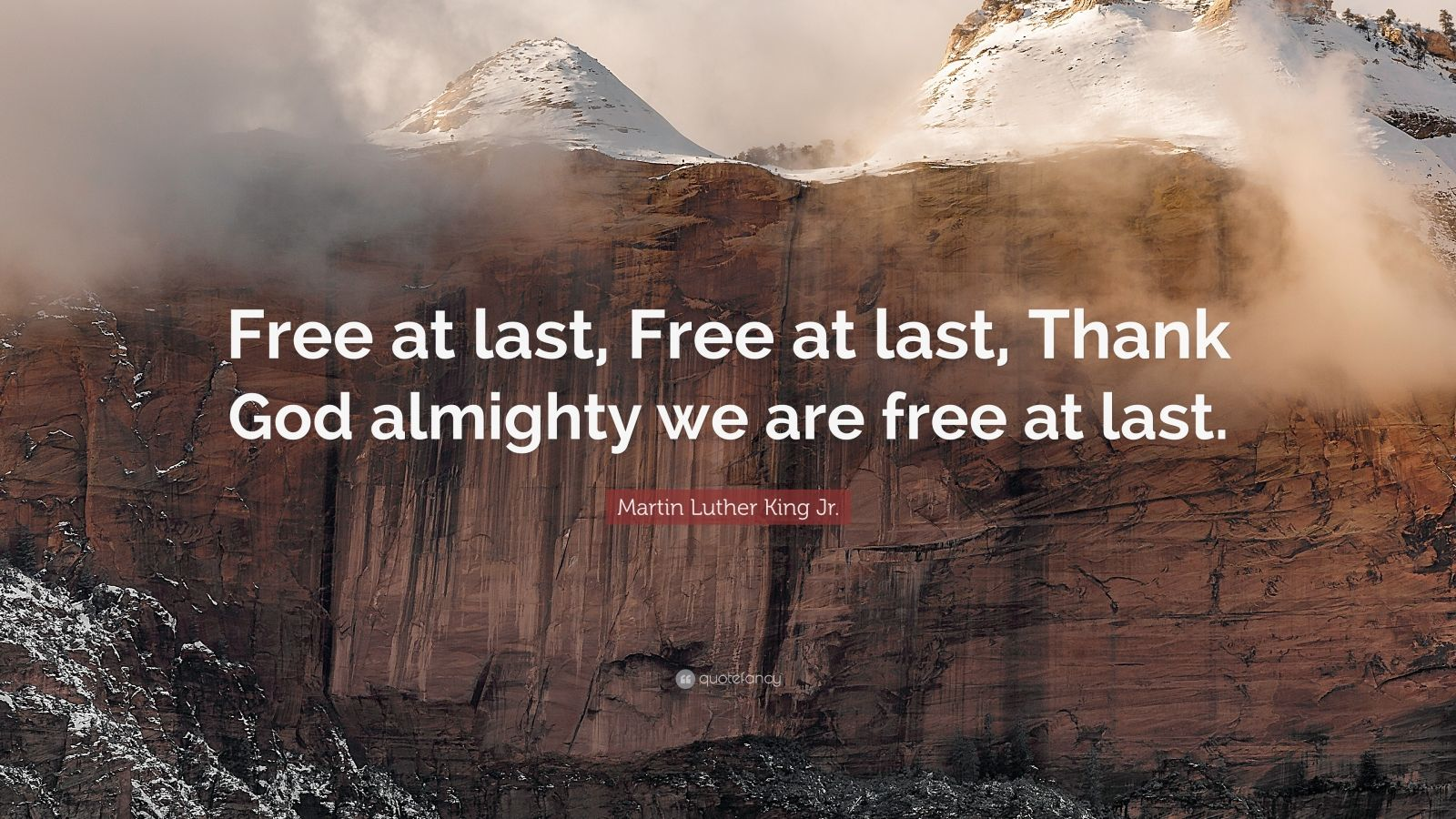 Martin Luther King Wallpaper Quotes Martin Luther King Jr Quote Free At Last Free At Last