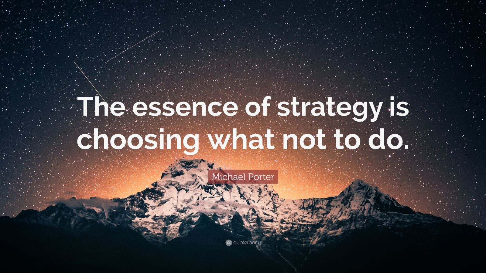 Steve Jobs Wallpaper Quotes Michael Porter Quote The Essence Of Strategy Is Choosing