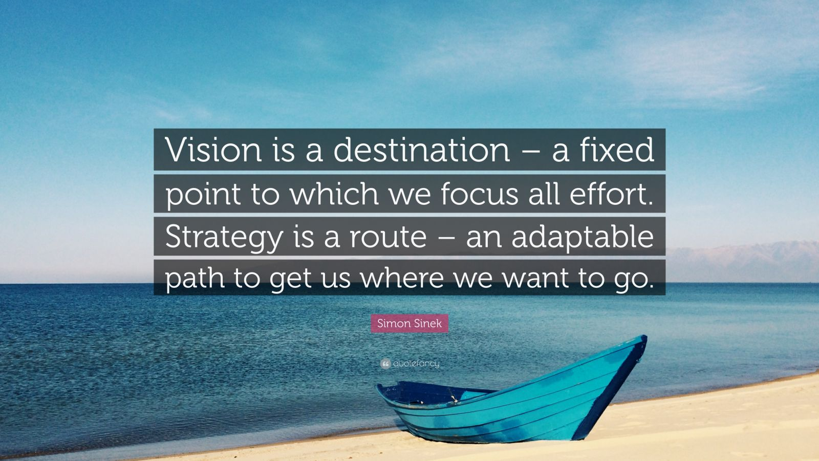 Brian Tracy Quotes Wallpaper Simon Sinek Quote Vision Is A Destination A Fixed