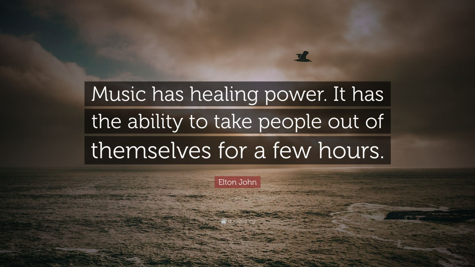 Kurt Cobain Quotes Wallpaper Elton John Quote Music Has Healing Power It Has The
