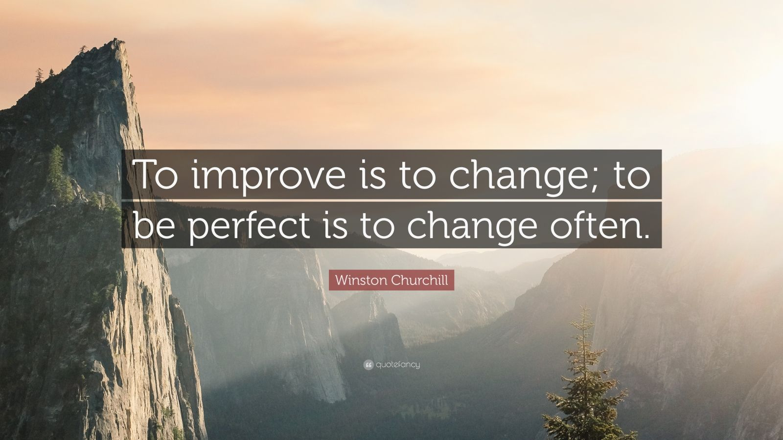 Persistence Quotes Wallpapers Winston Churchill Quote To Improve Is To Change To Be