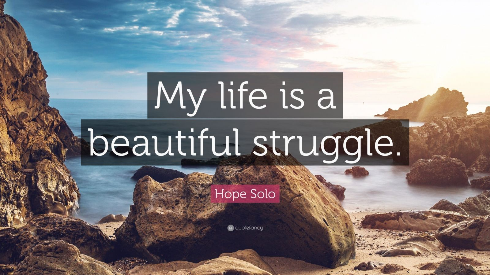 Hope Solo Quote My Life Is A Beautiful Struggle 7