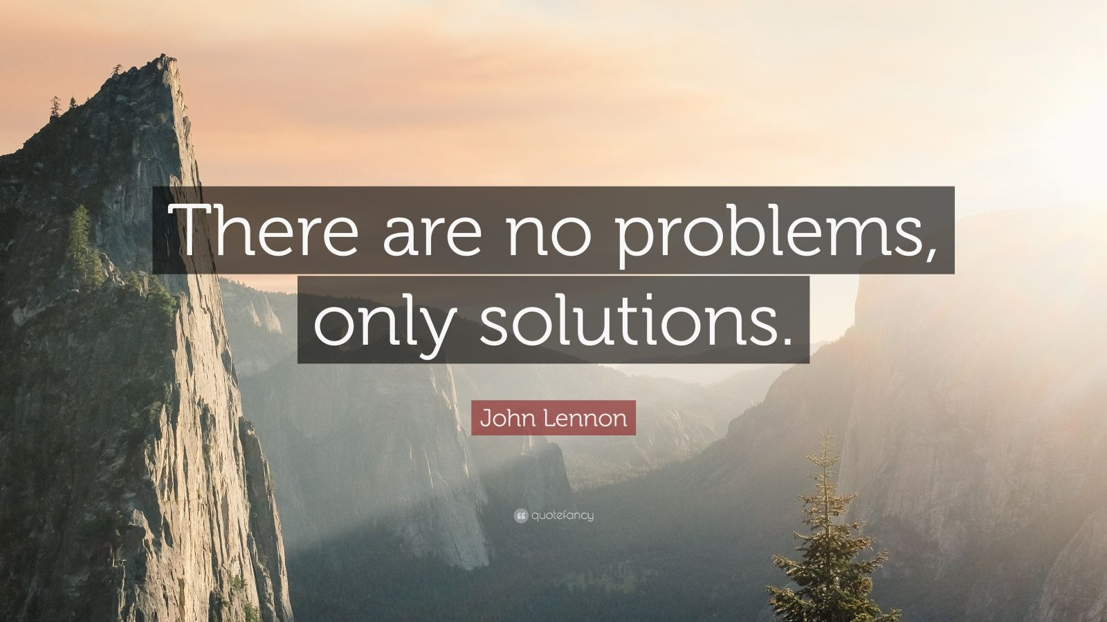 Wallpaper Quotes About Time John Lennon Quote There Are No Problems Only Solutions