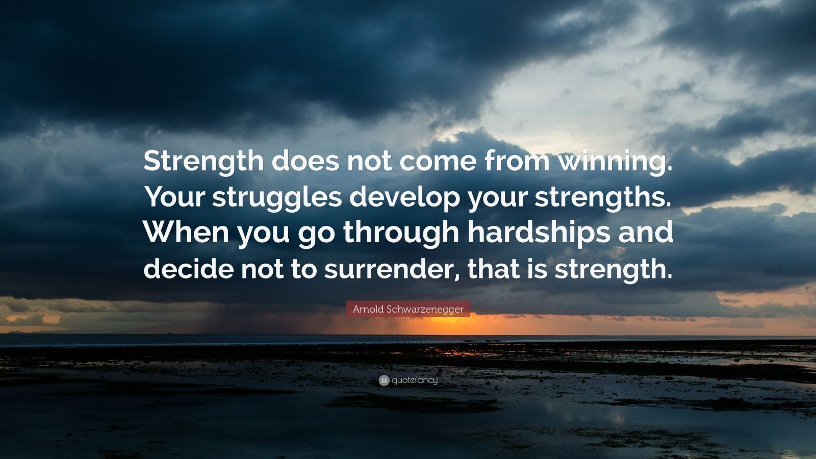 Comfort Zone Motivational Quotes Wallpaper Arnold Schwarzenegger Quote Strength Does Not Come From