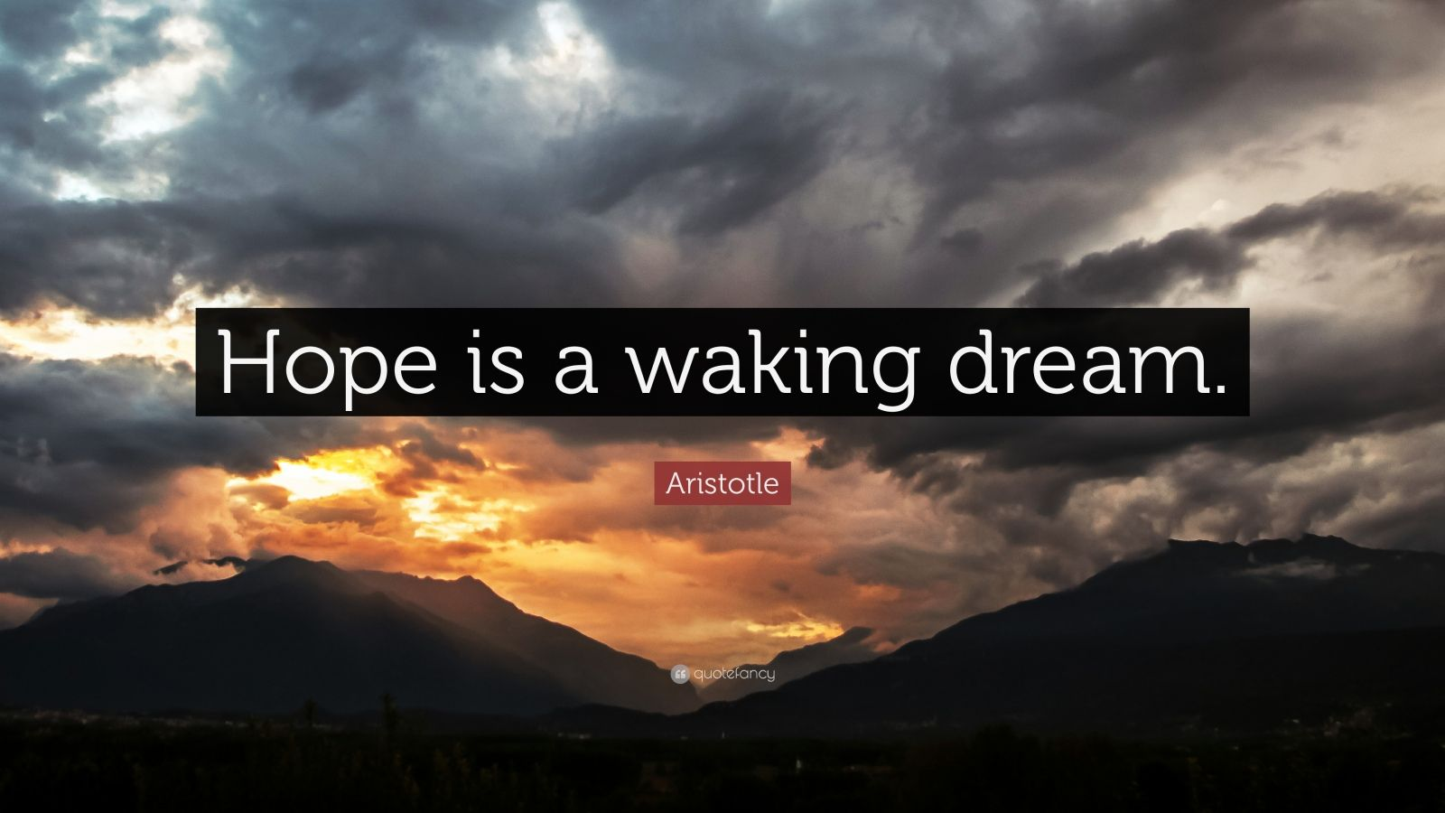 Aristotle Quotes Wallpaper Aristotle Quote Hope Is A Waking Dream 21 Wallpapers