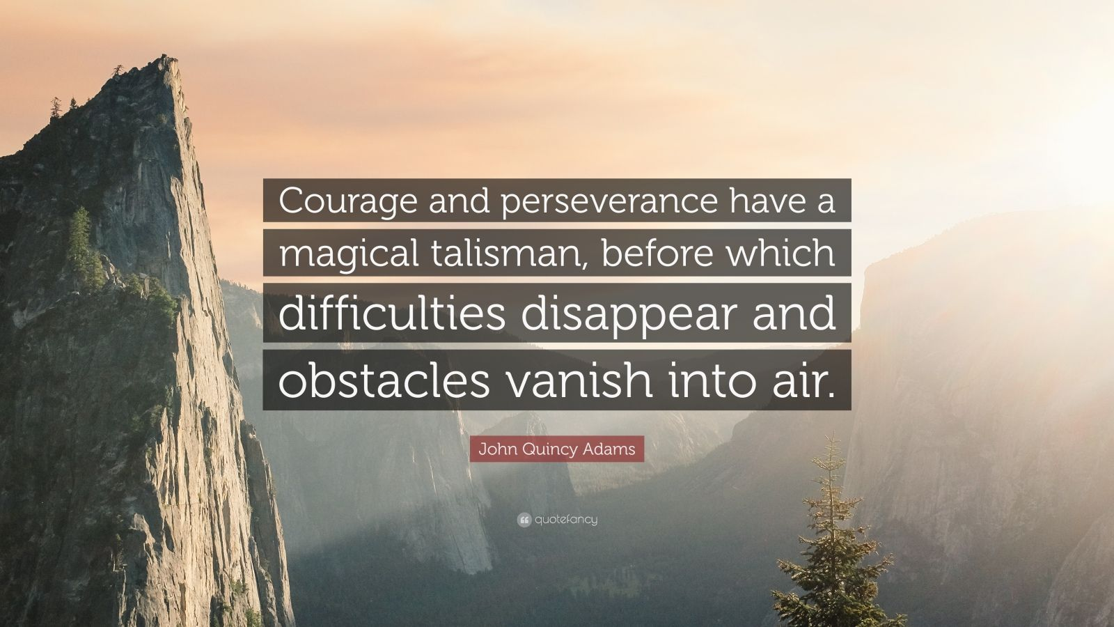 Steve Jobs Wallpaper Quotes John Quincy Adams Quote Courage And Perseverance Have A