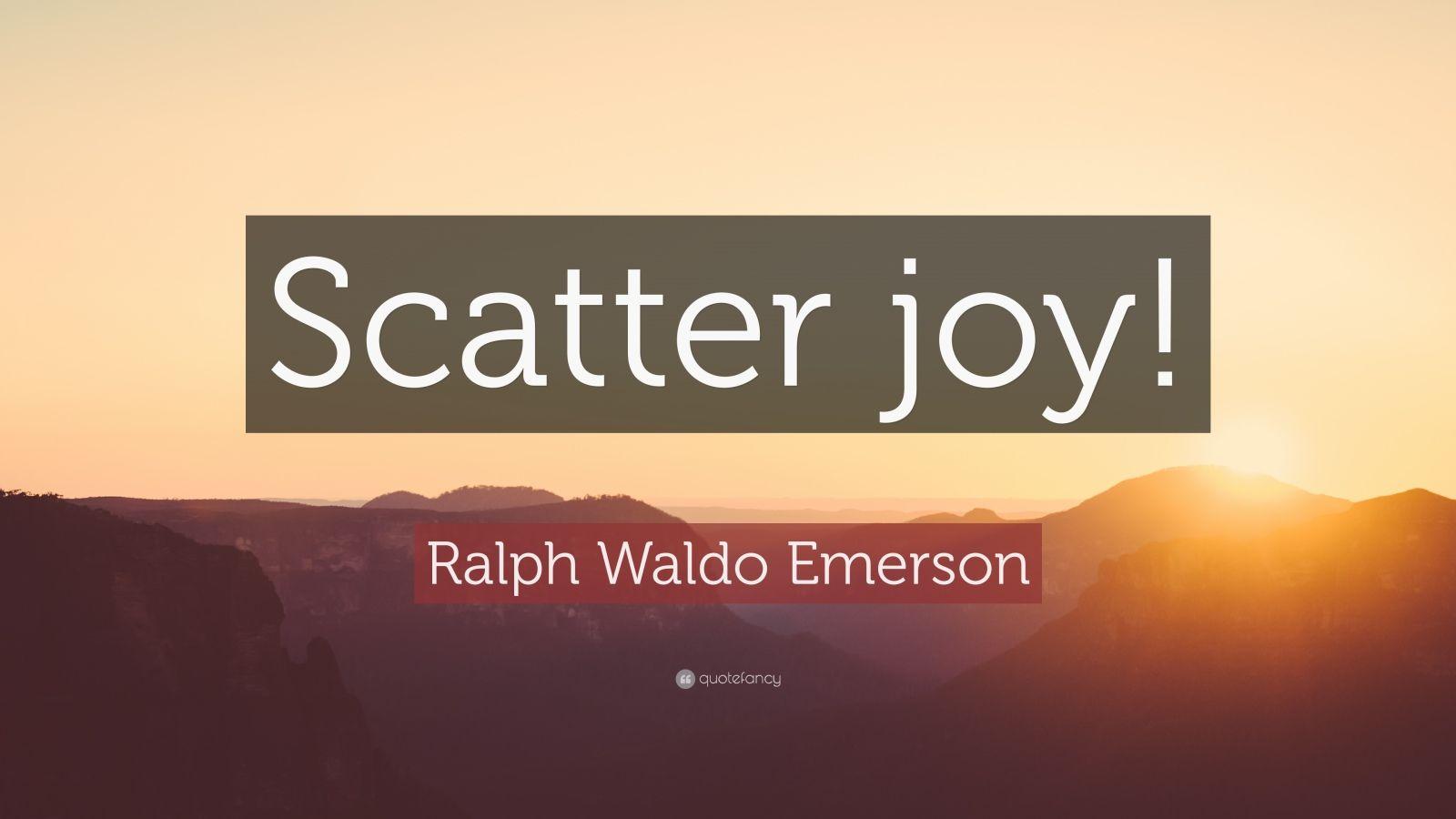 Ralph Waldo Emerson Quotes Wallpaper