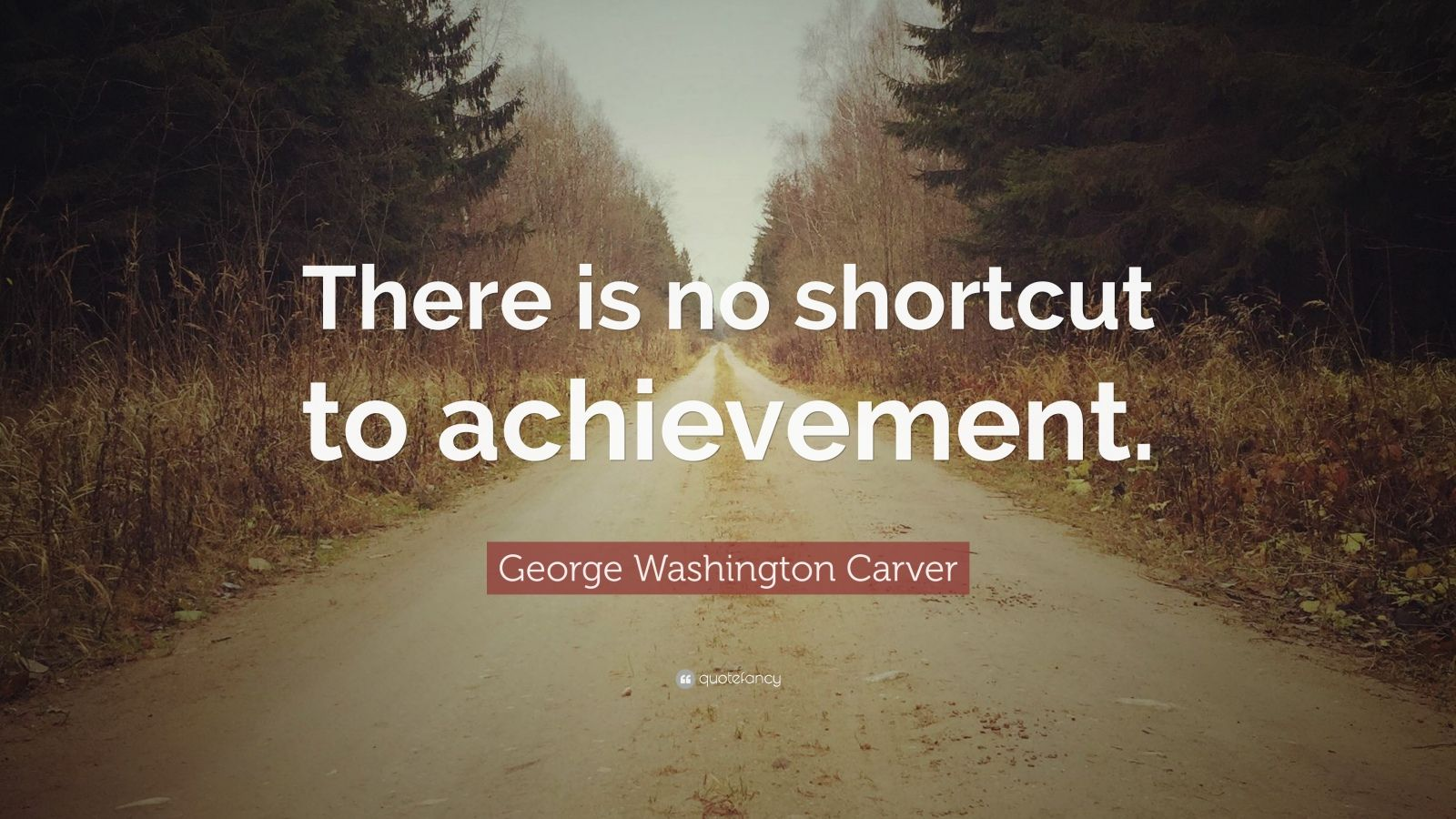 Good Morning Wallpaper With Motivational Quotes George Washington Carver Quote There Is No Shortcut To