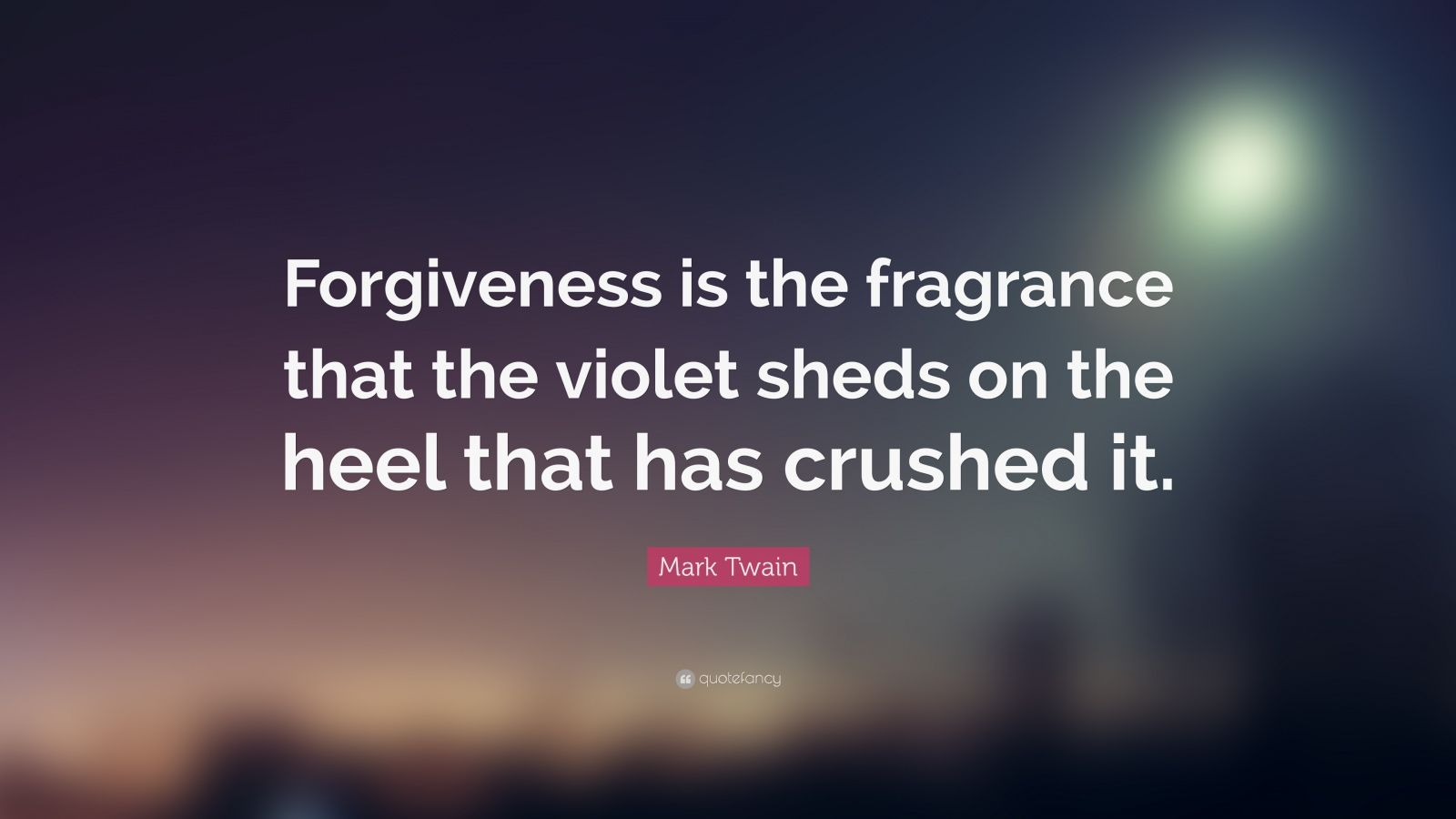 Mother Teresa Quotes Wallpapers Mark Twain Quote Forgiveness Is The Fragrance That The