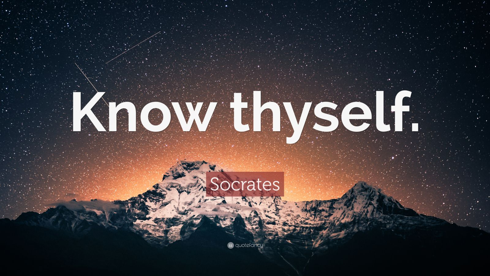 Wallpaper Quote About Life Socrates Quote Know Thyself 32 Wallpapers Quotefancy