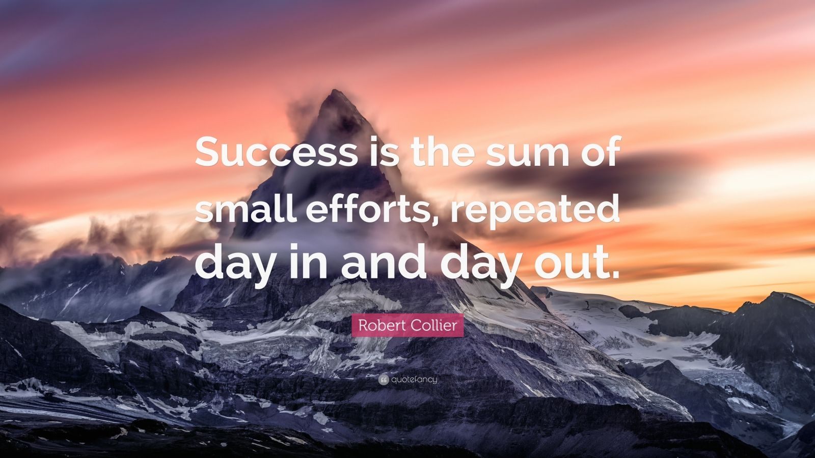 Steve Jobs Wallpaper Quotes Robert Collier Quote Success Is The Sum Of Small Efforts