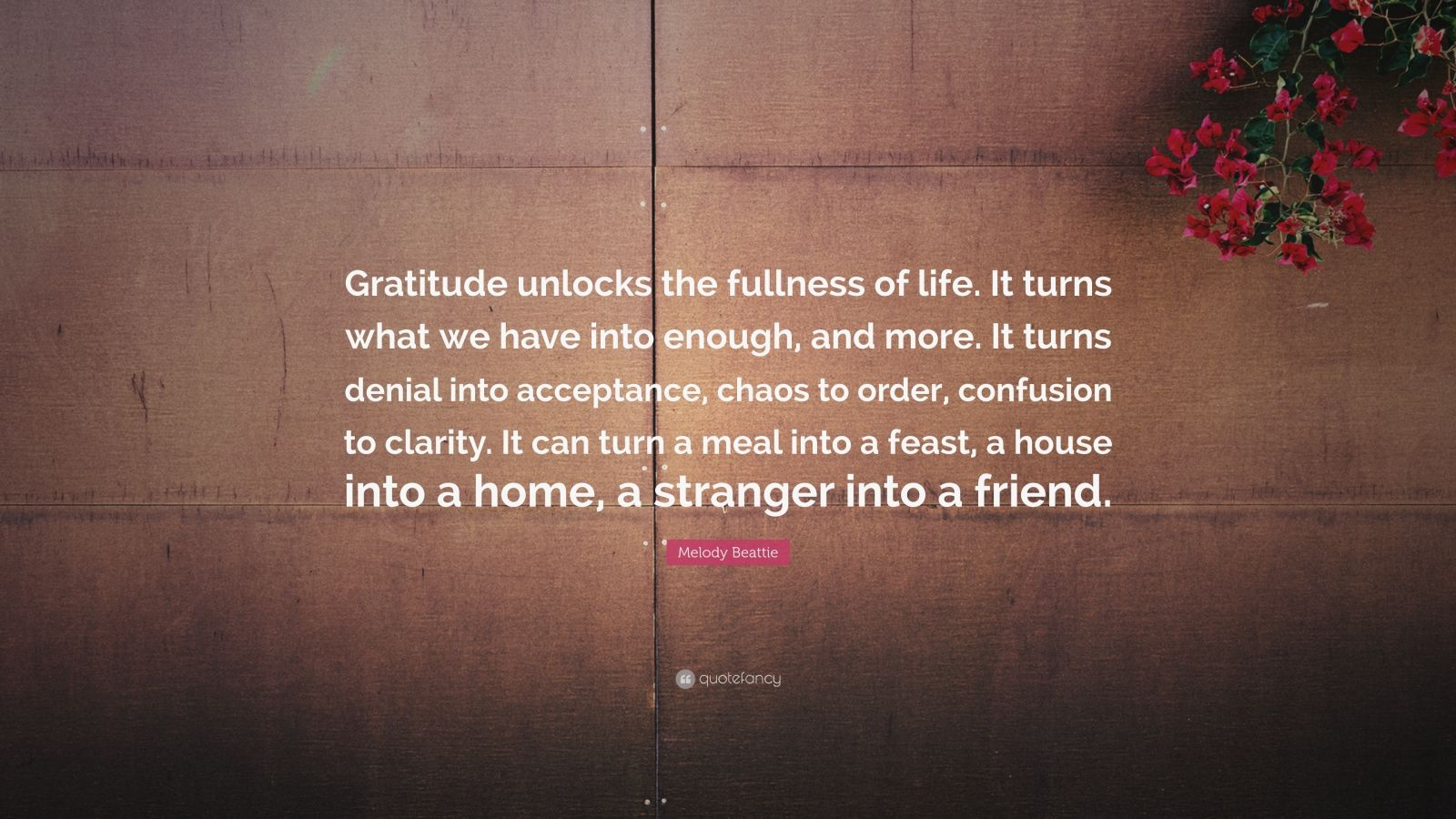 Life Success Quotes Hd Wallpapers Melody Beattie Quote Gratitude Unlocks The Fullness Of