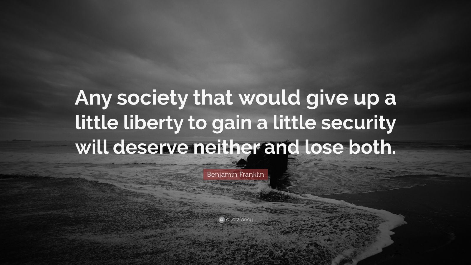 Douglas Adams Quotes Wallpaper Benjamin Franklin Quote Any Society That Would Give Up A