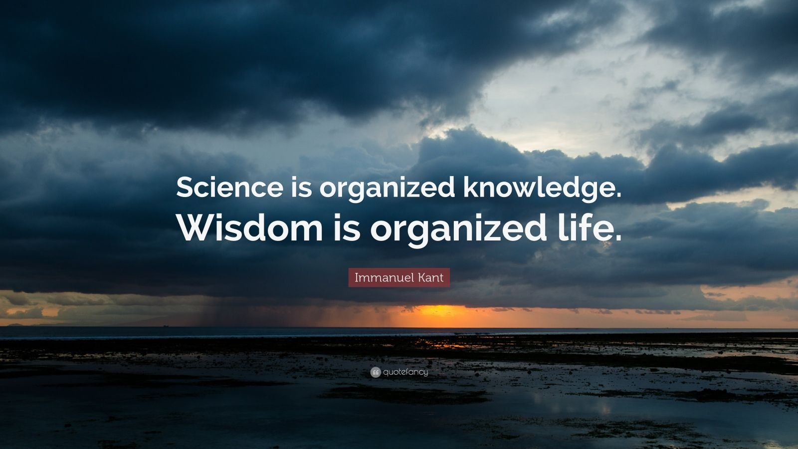 Chanakya Quotes Wallpaper Immanuel Kant Quote Science Is Organized Knowledge