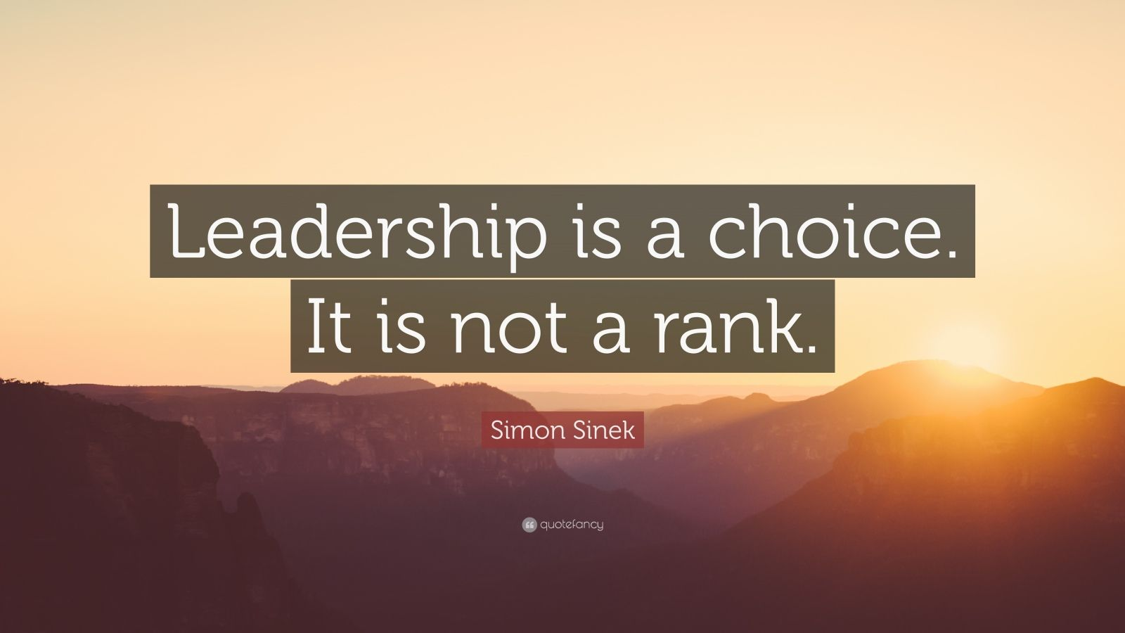 Casey Neistat Quotes Wallpaper Simon Sinek Quote Leadership Is A Choice It Is Not A
