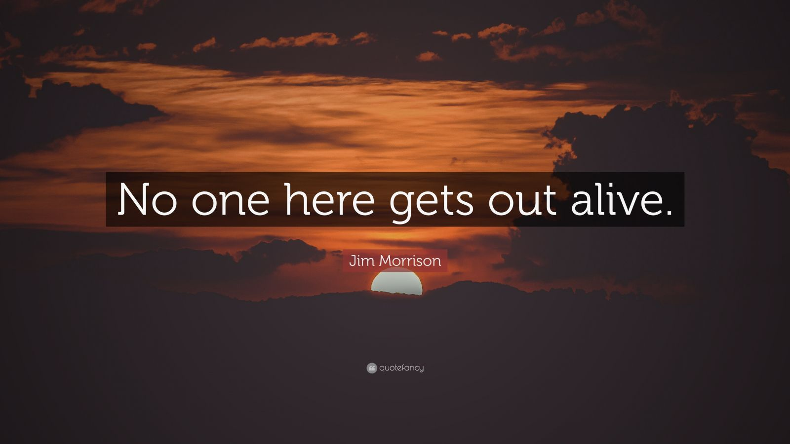 Douglas Adams Quotes Wallpaper Jim Morrison Quote No One Here Gets Out Alive 15