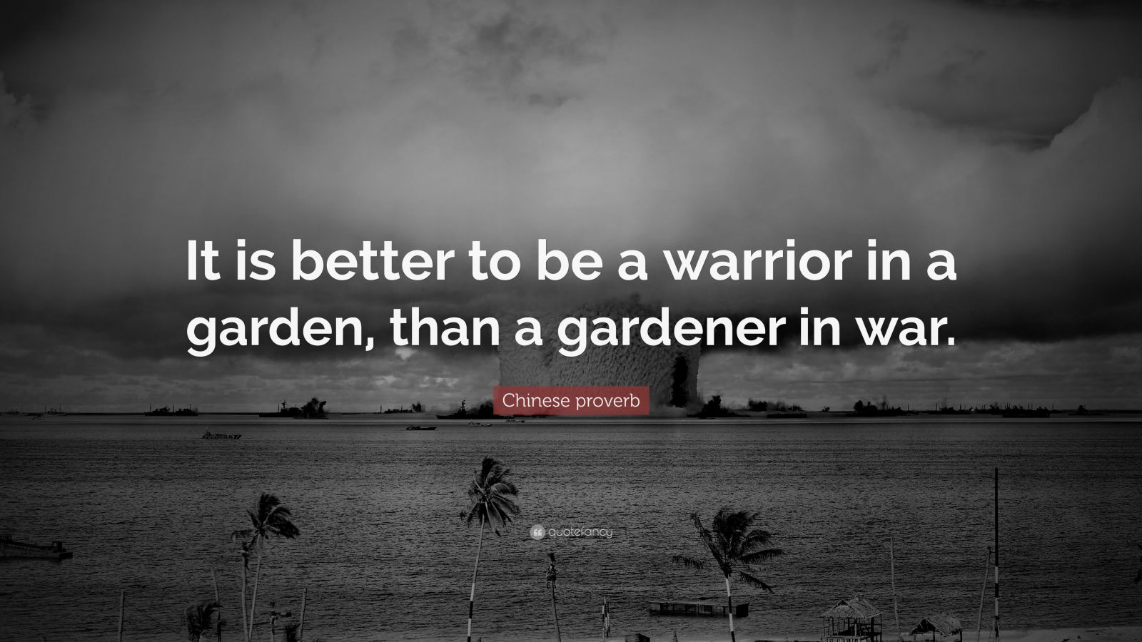 Swami Vivekananda Quotes Wallpaper Chinese Proverb Quote It Is Better To Be A Warrior In A