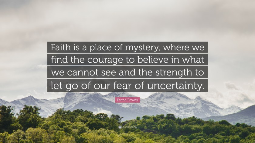 Image result for mystery of faith quote