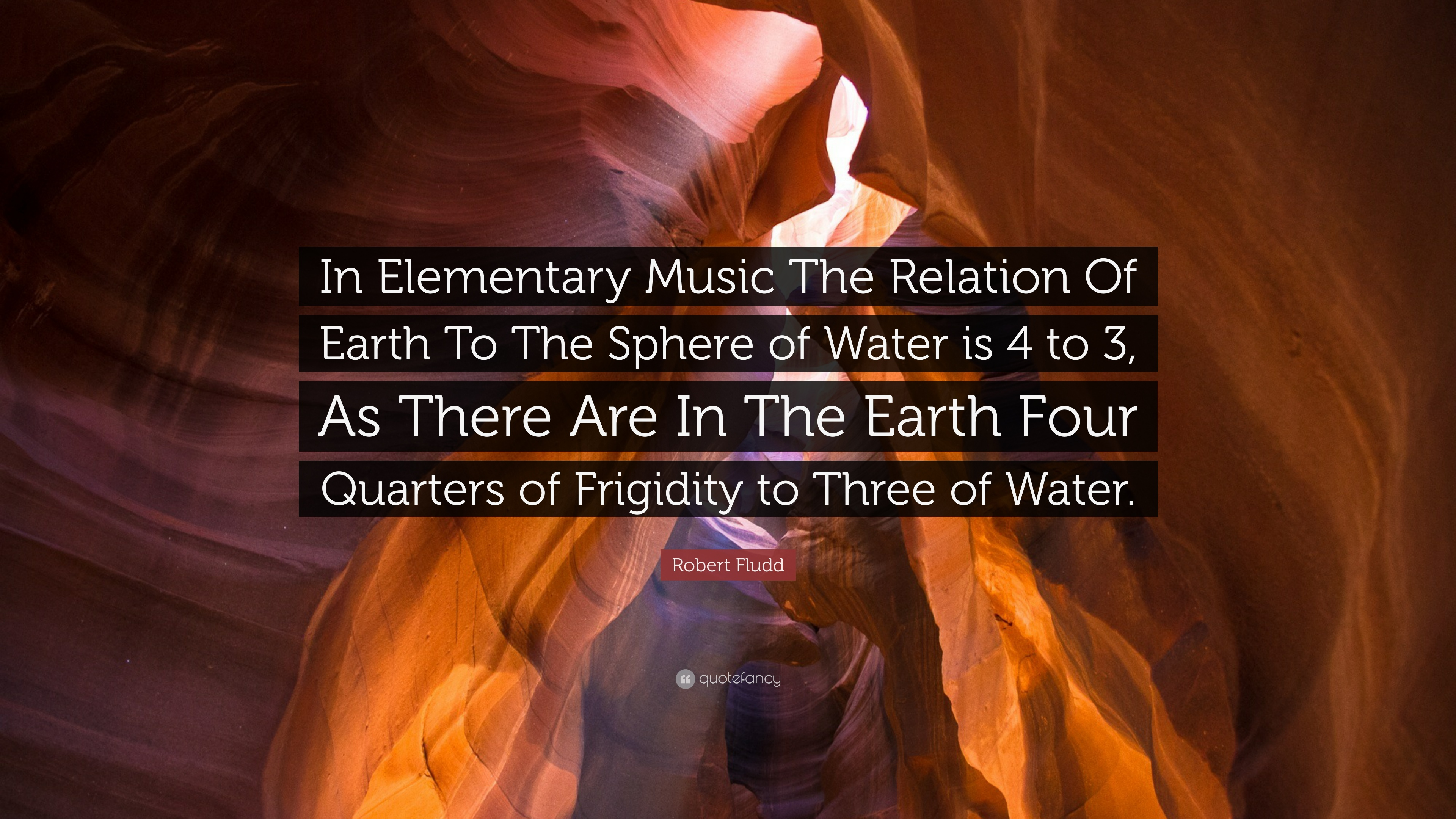 Robert Fludd Quote In Elementary Music The Relation Of
