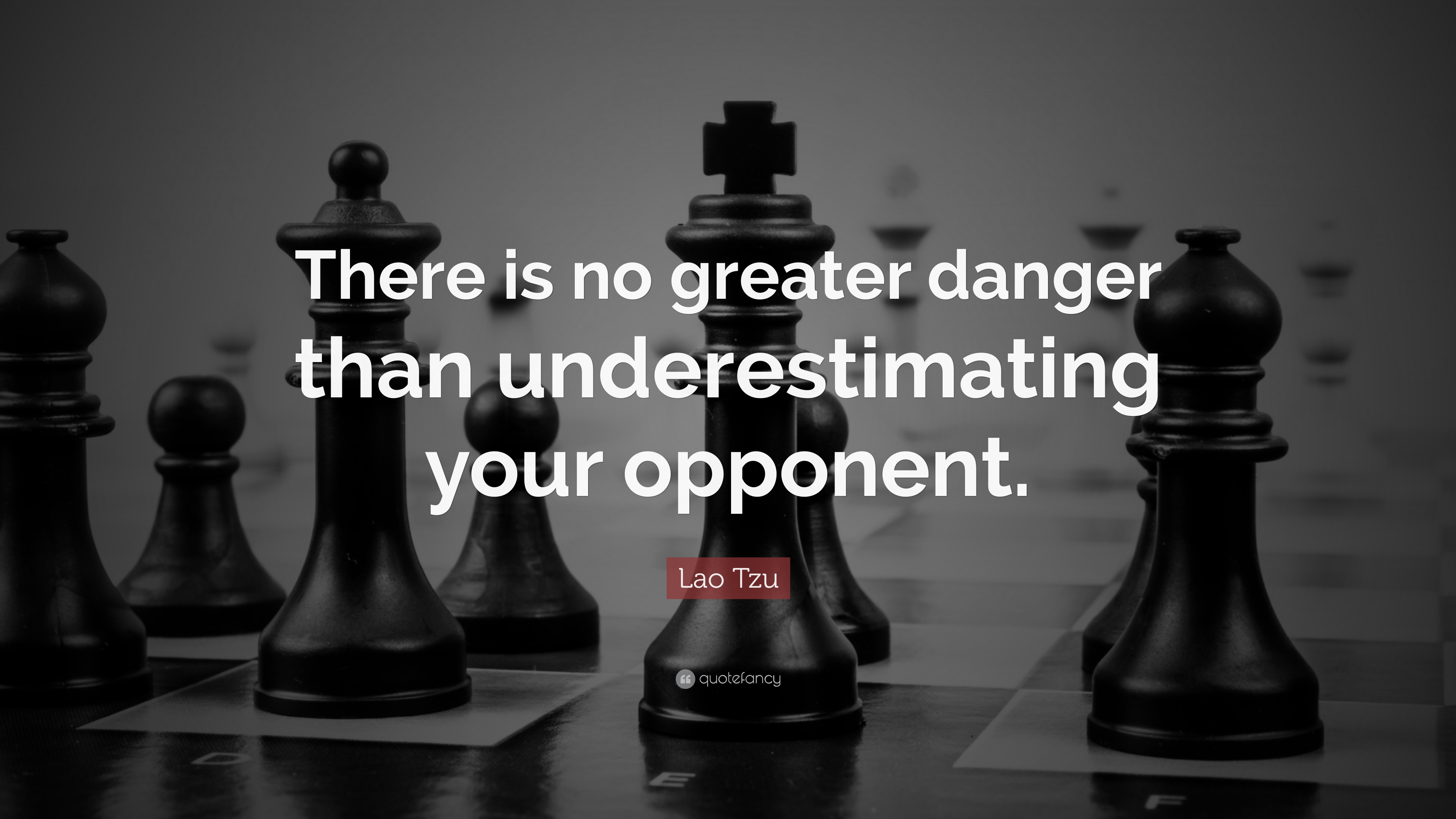 Chess Wallpaper Hd With Quotes Lao Tzu Quote There Is No Greater Danger Than