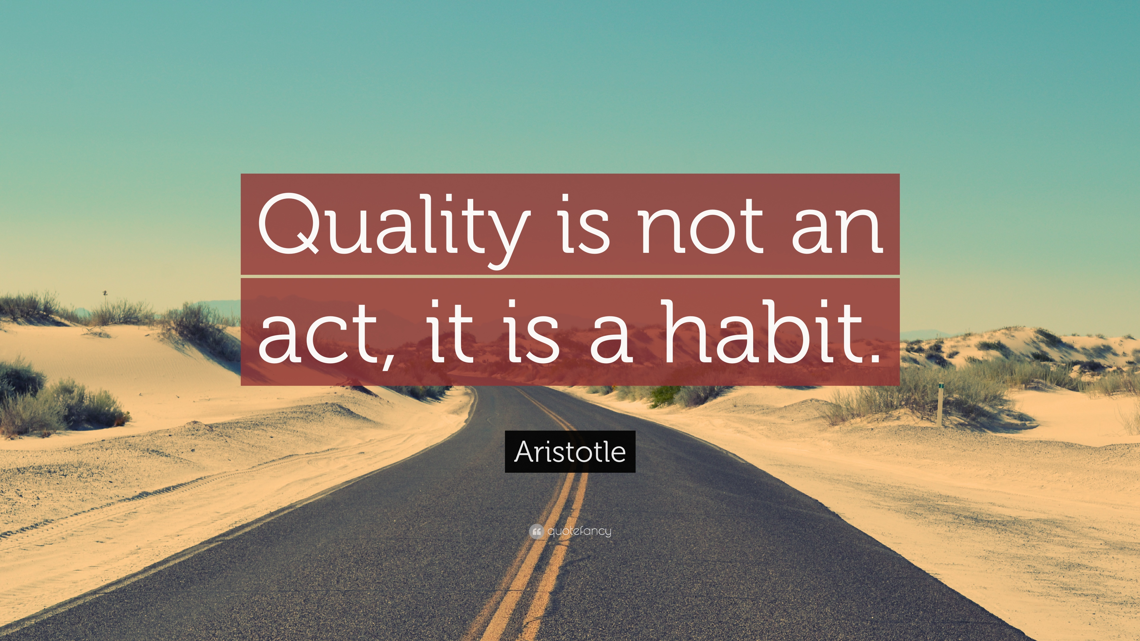 John Lennon Quotes Wallpaper Aristotle Quote Quality Is Not An Act It Is A Habit