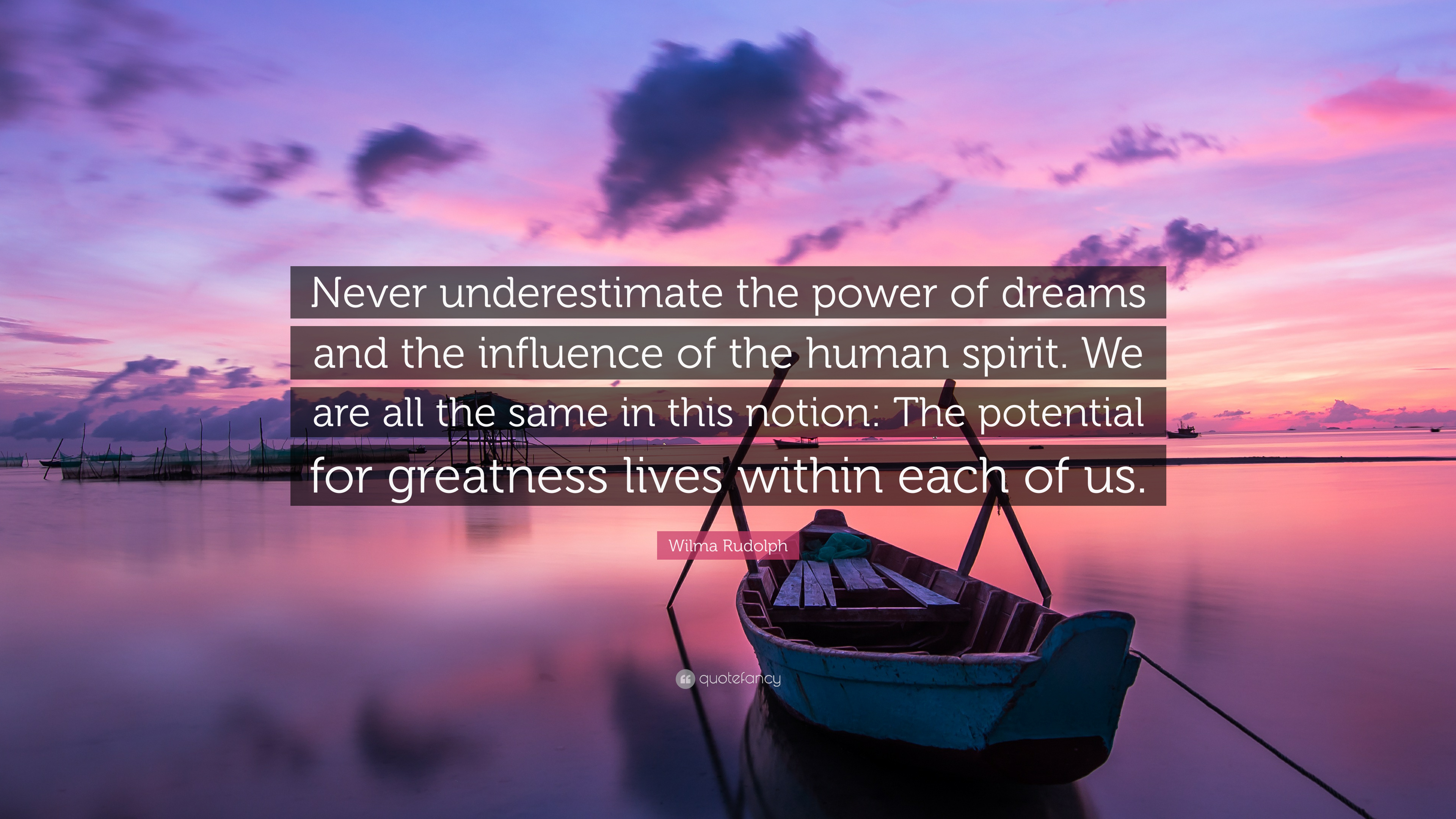 Spirit Science Quotes Wallpapers Wilma Rudolph Quote Never Underestimate The Power Of