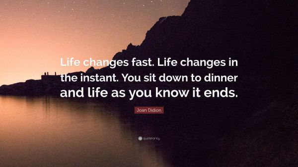 20 Life Can Change In An Instant Quote Pictures And Ideas On Meta