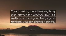 You Change Your Thinking Year Of Clean Water