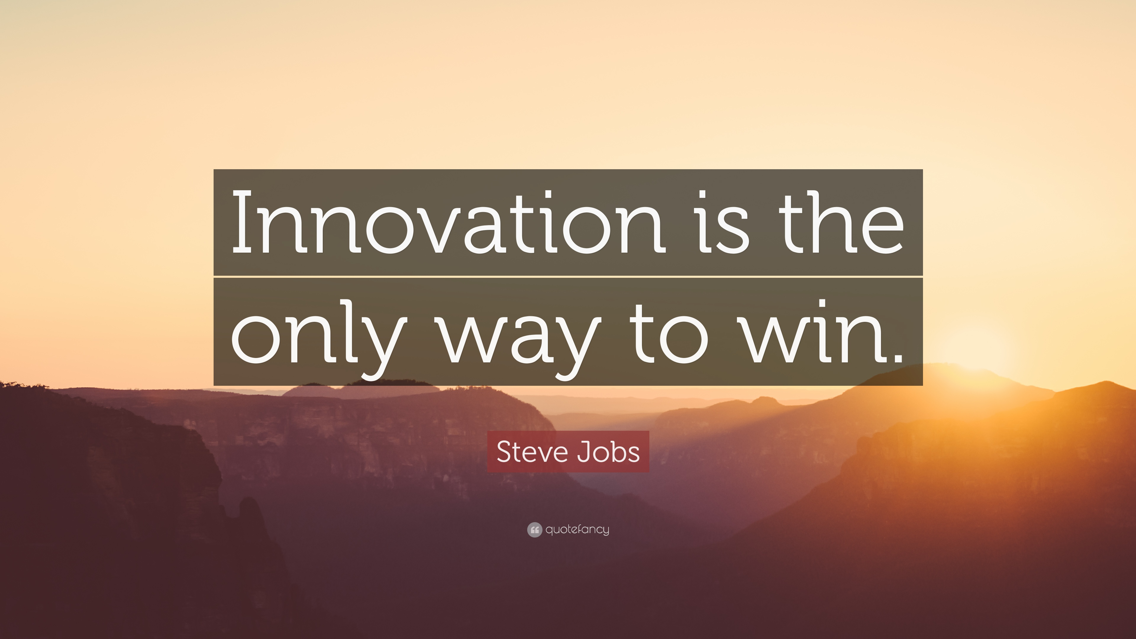 Drake Wallpaper Quotes Steve Jobs Quote Innovation Is The Only Way To Win 23