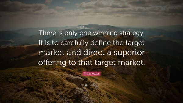Winning Strategy Quotes - Year of Clean Water