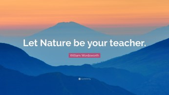 Image result for let nature in