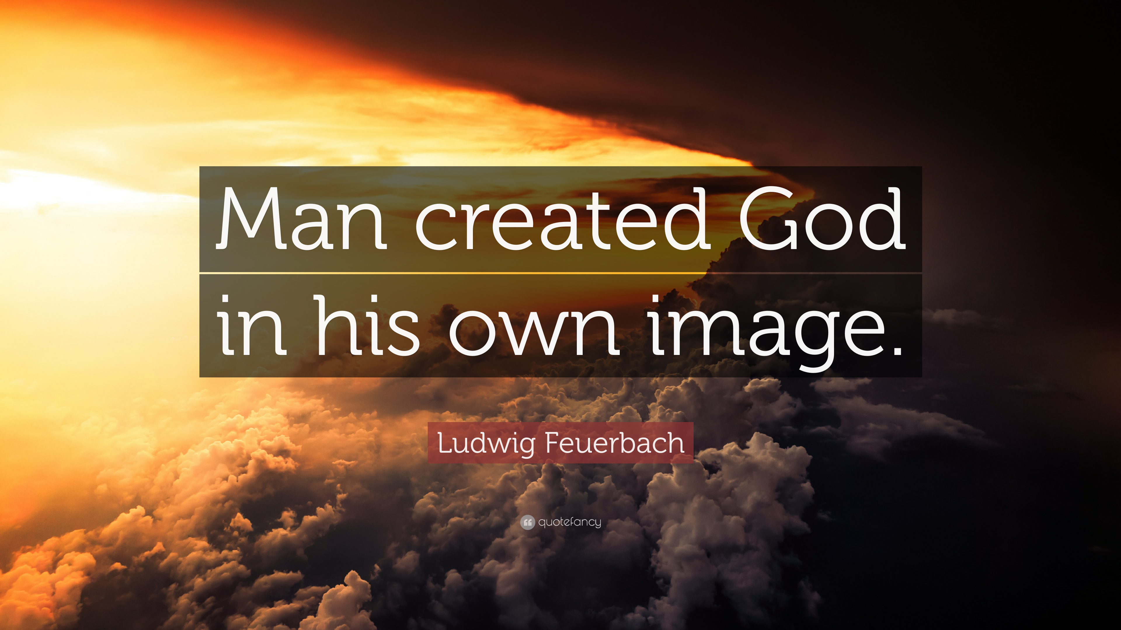Swami Vivekananda Quotes Wallpaper Ludwig Feuerbach Quote Man Created God In His Own Image