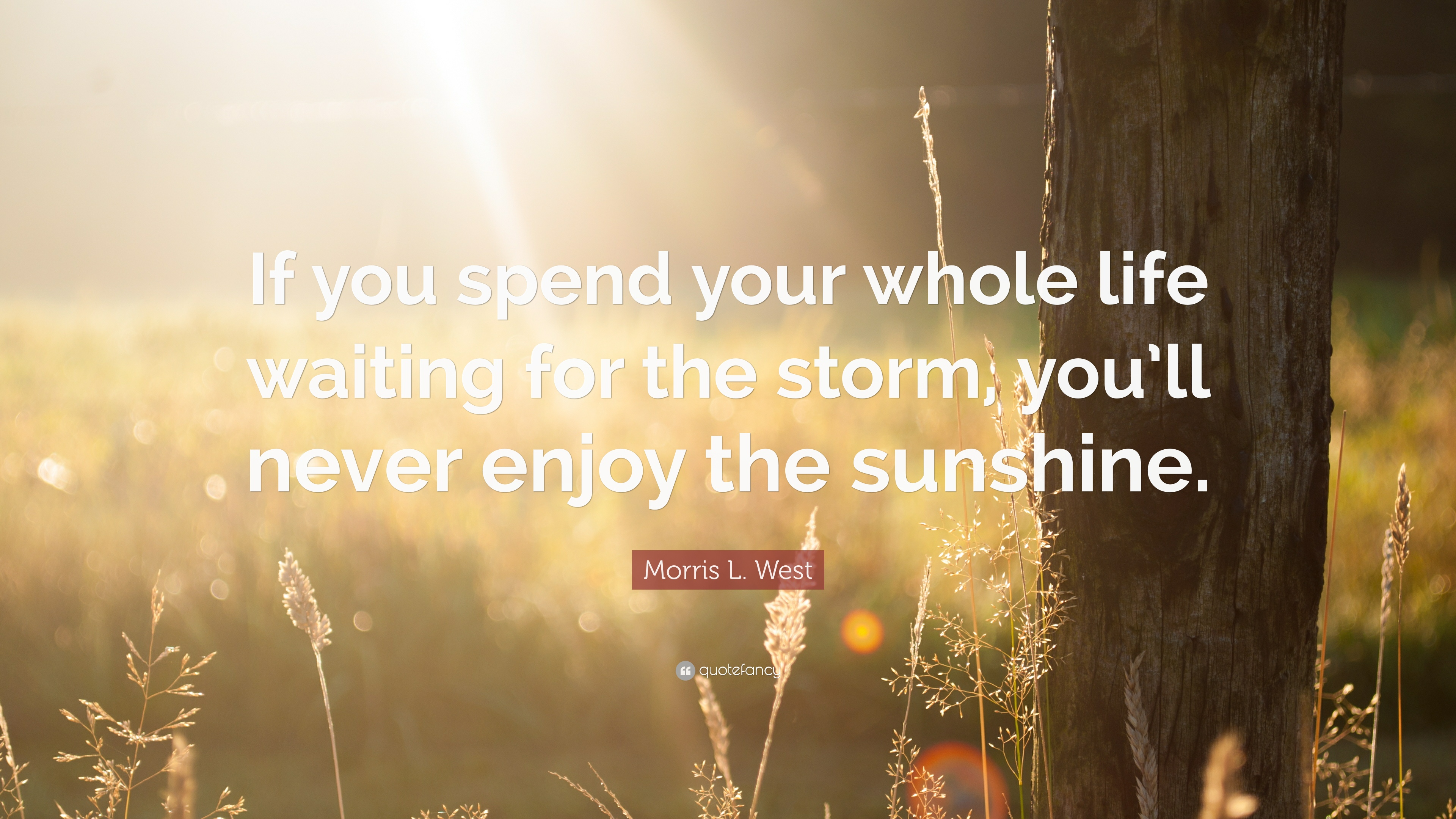 Dalai Lama Wallpaper Quotes Morris L West Quote If You Spend Your Whole Life