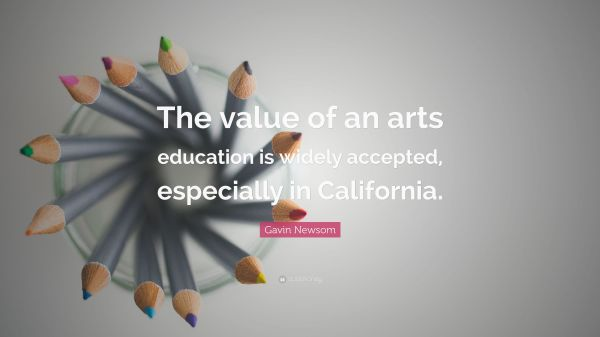 Gavin Quote Of Arts Education