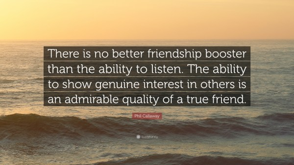 Phil Callaway Quote Friendship