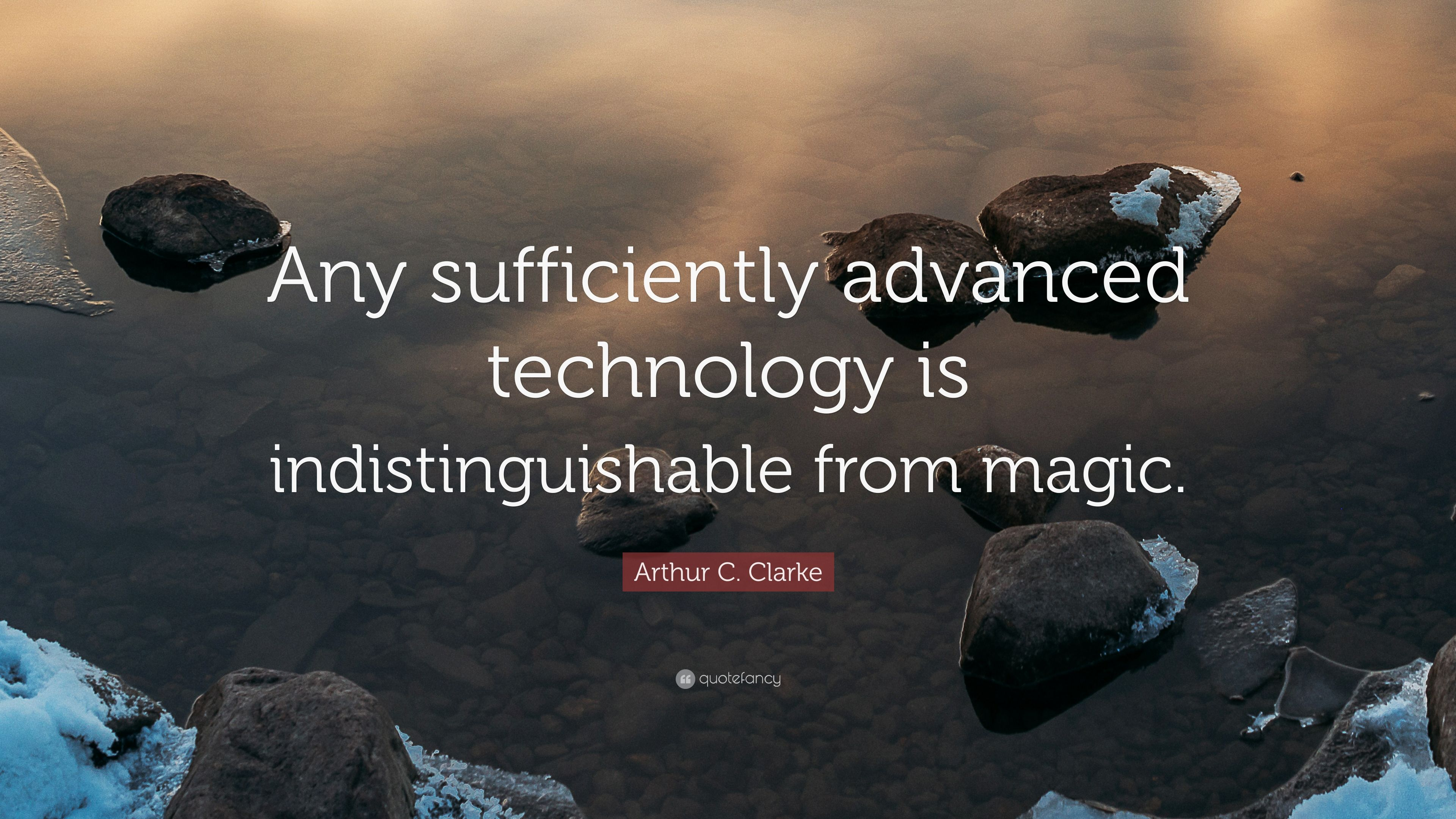 Studying Quotes Wallpaper Arthur C Clarke Quote Any Sufficiently Advanced