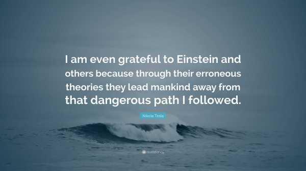 Tesla Einstein Quote Imgurl