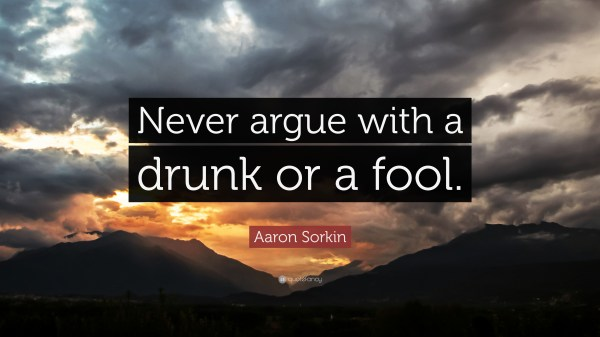 Quotes About Arguing With Fools