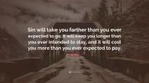 Kay Arthur Quote Sin