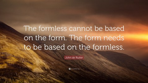 Image result for formless