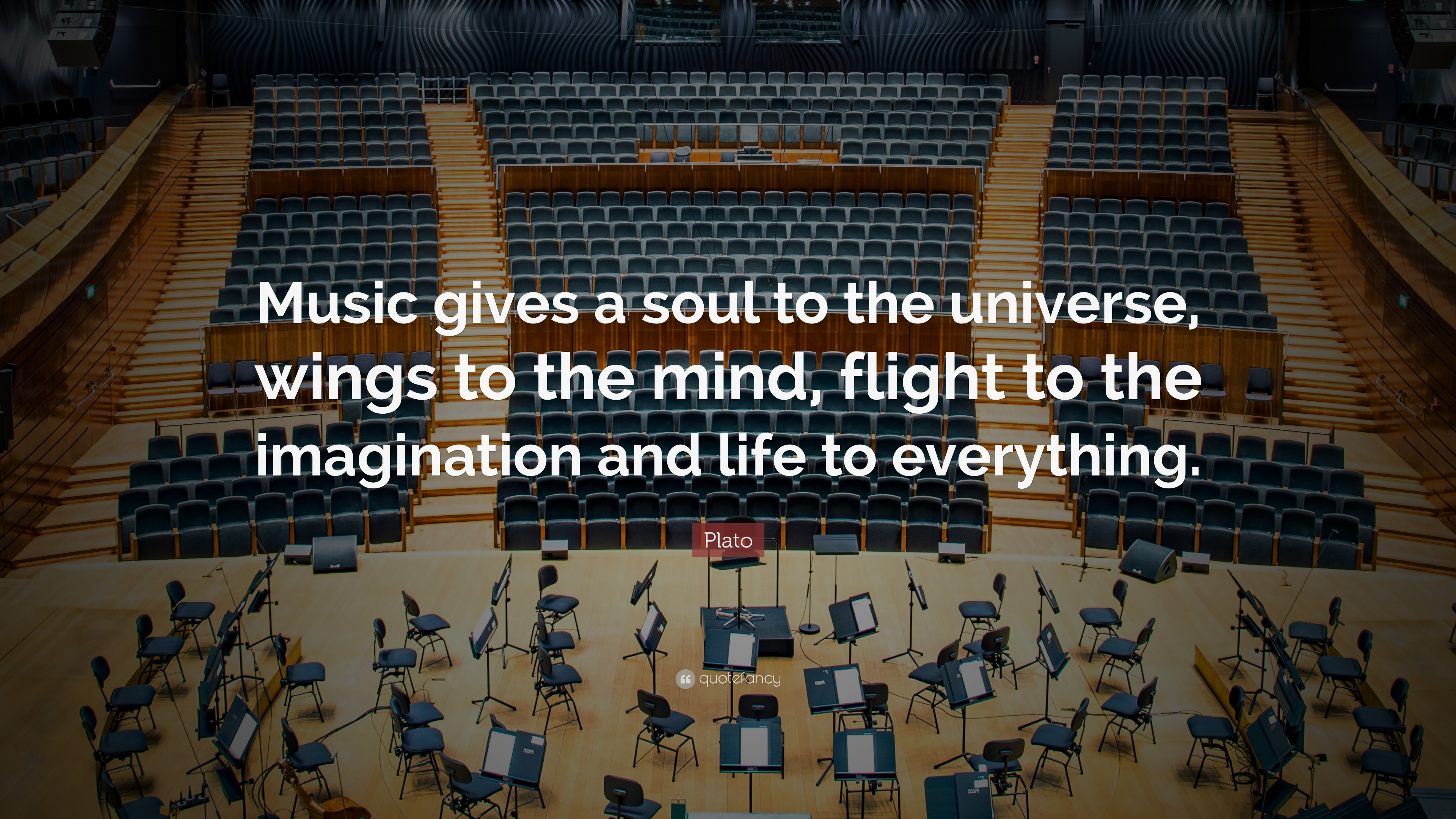 Nietzsche Quotes Wallpaper Plato Quote Music Gives A Soul To The Universe Wings To