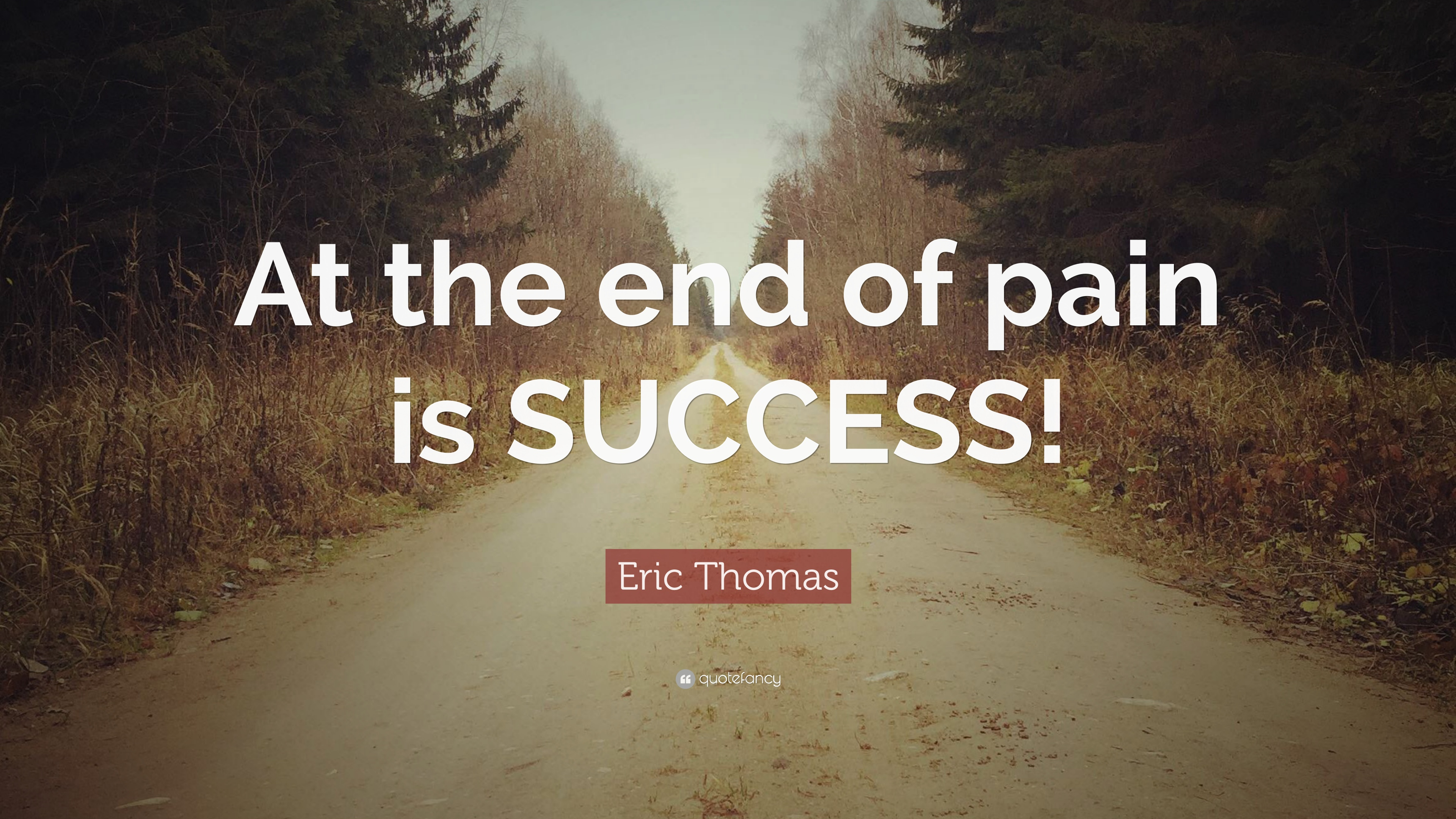 Pain Wallpaper Quotes Eric Thomas Quote At The End Of Pain Is Success 12